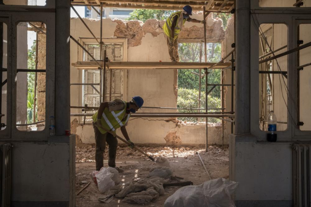 Beirut destruction and rebuild2