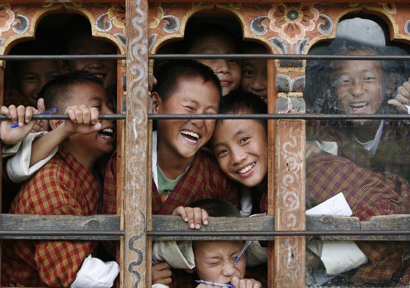 Students in Bhuitan