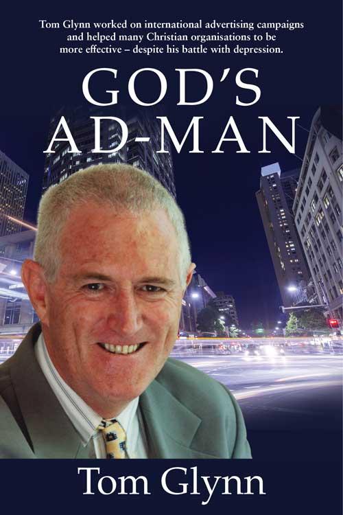 Tom Glynn Gods Ad Man book cover 500