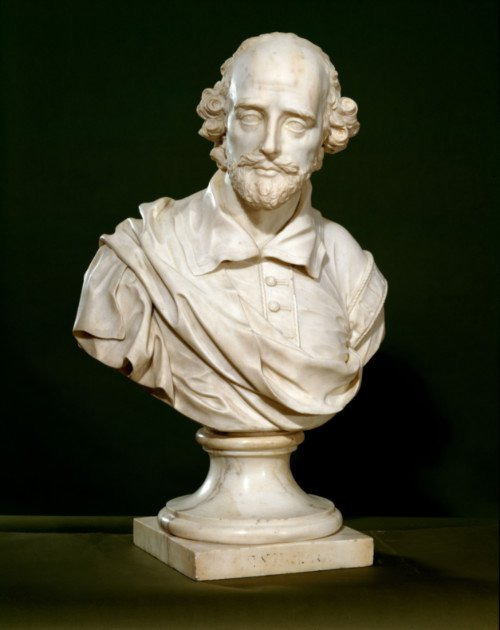 Bust of William Shakespeare
