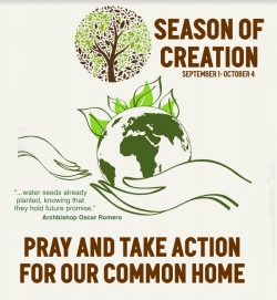 1st SEPTEMBER to 4th OCTOBER - SEASON OF CREATION