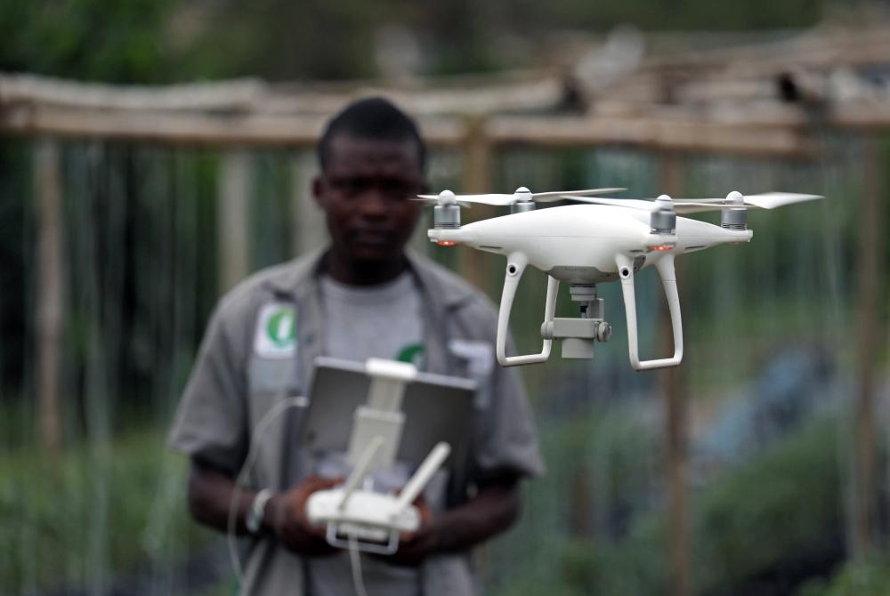 Farmers drones