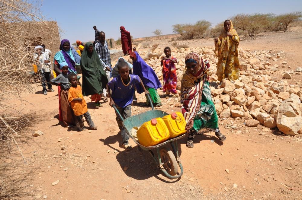 Somaliland drought 2012