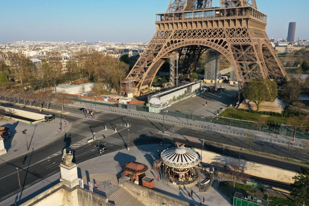 Lockdown Paris