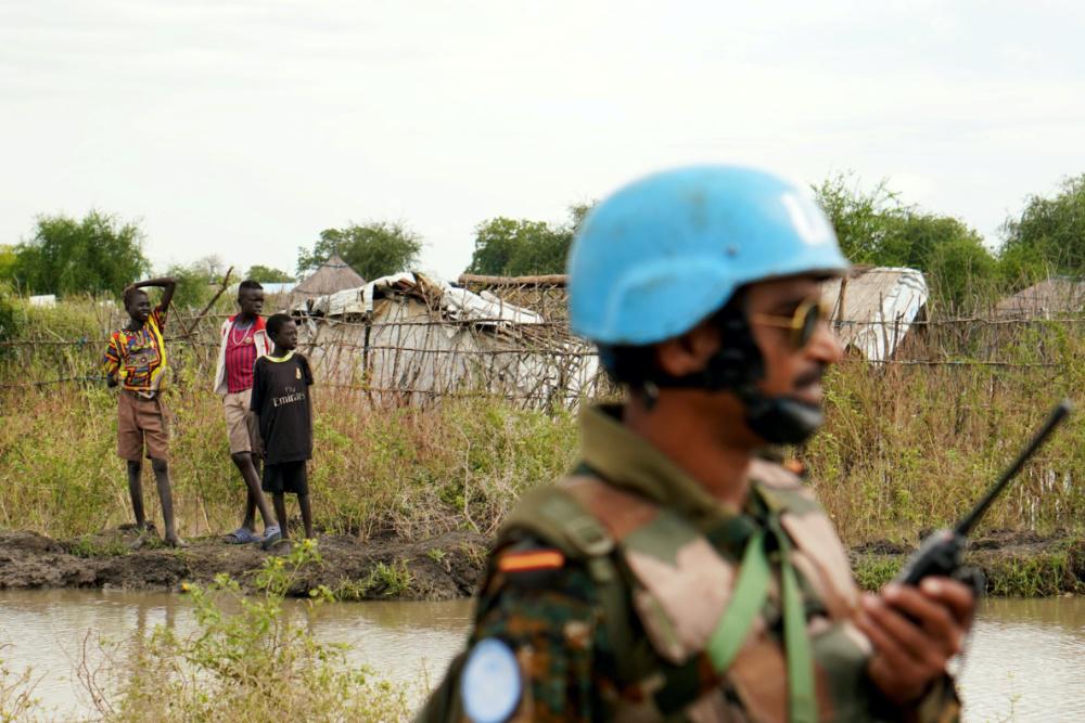 UN peacekeeper South Sudan