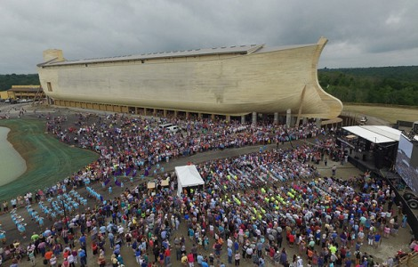 US: VISION OF A LIFE-SIZED NOAH'S ARK NOW A REALITY IN KENTUCKY