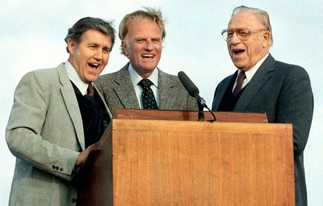BILLY GRAHAM: OFFSTAGE AND ON, HIS MINISTRY WAS A TEAM EFFORT