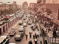 SNAPSHOT: STREET SCENE IN CAIRO, EGYPT