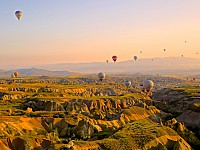 SNAPSHOT: ABOVE CAPPADOCIA, TURKEY