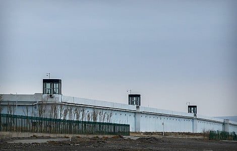 Room for 10,000: Inside China's largest detention centre