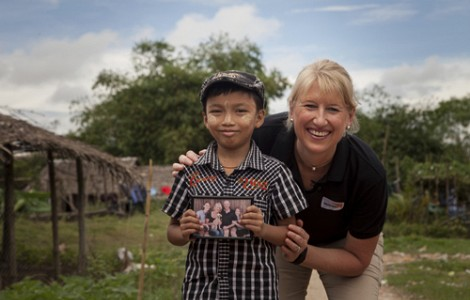 PROFILE: CLAIRE ROGERS' PASSION FOR MAKING A DIFFERENCE AMONG THE WORLD'S POOREST