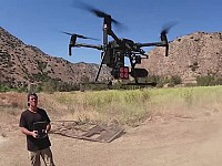 Wow!: 'Doug to the Rescue' - drone pilot saves animals in global disaster zones