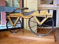ORIGINS: 'RUNNING MACHINES', 'HOBBY HORSES' AND 'PENNY FARTHINGS' - THE BICYCLE'S RATHER ODD BEGINNINGS