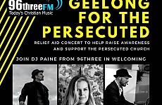 26th OCTOBER - GEELONG, AUSTRALIA - 'GEELONG FOR THE PERSECUTED'