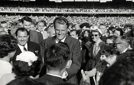 EVANGELISM: SIXTY YEARS AFTER BILLY GRAHAM'S HISTORIC AUSTRALIAN TOUR, FRANKLIN GRAHAM CARRIES ON WITH THE FAMILY TRADITION