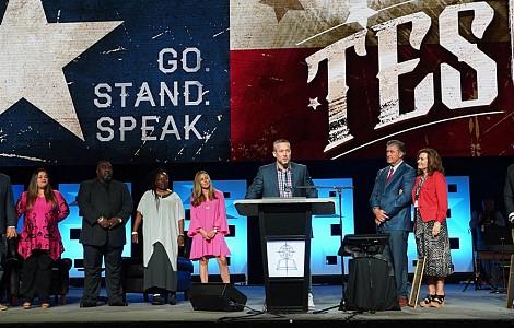 SOUTHERN BAPTISTS: SEEKING UNITY, JD GREEAR ASSUMES PRESIDENCY