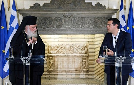 ORTHODOX CHURCH: GREEKS BRIDLE AT HISTORIC DEAL TO SPLIT CHURCH FROM STATE