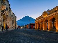 SNAPSHOT: QUIET STREET IN GUATEMALA