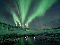 Snapshot: Northern lights, Thórsmörk, Iceland