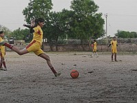 Wow!: Girls tackle child marriage on the football pitch in India