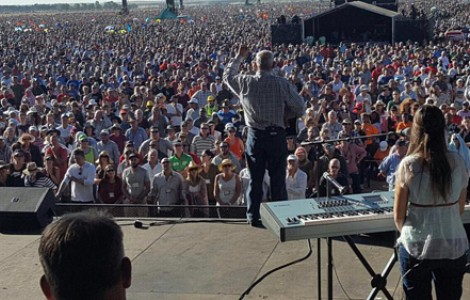 SOUTH AFRICA: 'IT'S TIME' - LARGEST PRAYER MEETING EVER HELD IN NATION'S HISTORY