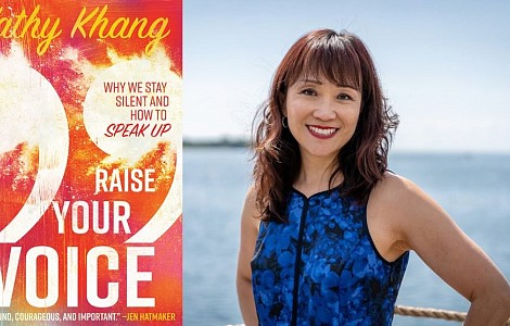 'RAISE YOUR VOICE': AUTHOR KATHY KHANG ON WHY CHRISTIANS NEED TO SPEAK UP - ON POLITICS AND EVERYTHING ELSE