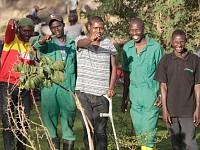 POSTCARDS: GANGS TO GARDENS - KENYAN YOUTH SHUN CRIME TO CREATE GREEN SPACES