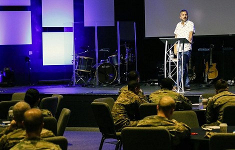 US: FOR MILITARY FAMILIES, THIS CHURCH AIMS TO BE MANNA FROM HEAVEN