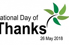 26th MAY - AUSTRALIA - NATIONAL DAY OF THANKS
