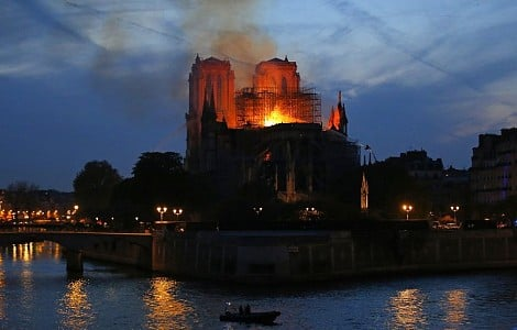 NOTRE DAME FIRE: CATHEDRAL A PLACE OF WORSHIP, HISTORY, ART
