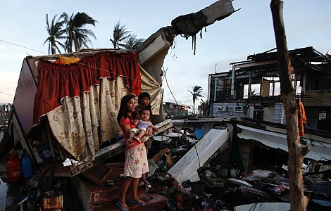 DISASTER READINESS: STAY OR GO? AS WEATHER GETS WILDER, NATIONS URGED TO PREPARE FOR DISPLACEMENT