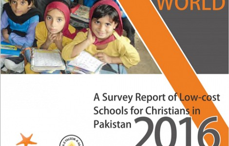 PAKISTAN: SURVEY FINDS 50 PER CENT OF CHRISTIAN SCHOOLS HAVE NO PLAYGROUND; 15 PER CENT OF STUDENTS NO TEXTBOOKS