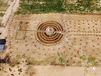 Postcards: Senegalese plant circular gardens in Green Wall defence against desert