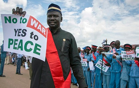 AFRICA: TIRED OF WAR, SOUTH SUDANESE PRAY FOR LATEST PEACE DEAL