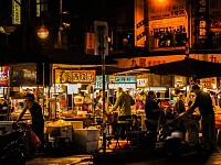 SNAPSHOT: NINGXIA NIGHT MARKET, TAIWAN