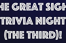 THE GREAT SIGHT TRIVIA NIGHT (THE THIRD!)
