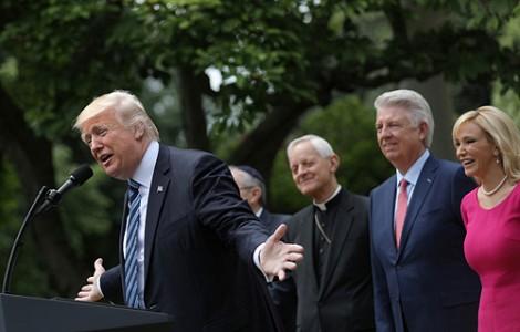 US POLITICS: CONSERVATIVE EVANGELICALS REVEL IN