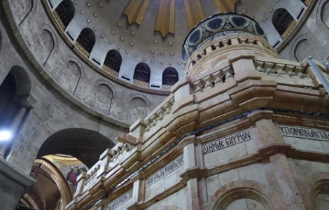 CONSERVATION: RESTORATION OF BUILDING COVERING REPUTED TOMB OF CHRIST COMPLETED