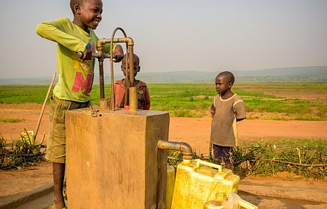 DEVELOPMENT: RUNNING TO BRING WATER ACCESS TO THOSE WITHOUT