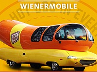STRANGESIGHTS: OF HOT DOG-SHAPED VEHICLES; PRESIDENT TRUMP TWEETING POETRY; AND, UGLY (AND POLITICAL) DOGS...